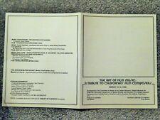 Art Of Film Music: Tribute To California'S Film Composers 1976, Schedule Program