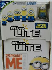 Despicable ME Minion MICRO LITE FORCE BLIND BAG Lot of 12 with display box