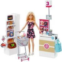 Mattel - Barbie Supermarket [New Toy] Paper Doll, Toy