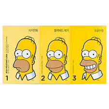 [THE FACE SHOP] The Simpsons Jeju Volcanic Lava 3-Step Deep Cleansing Nose Strip