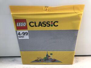 Lego City Bauplatte 10701 Hell Grau 48x48 Noppen LBG Neu OVP