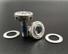 VINTAGE CAMPAGNOLO CRANK FIXING SCREWS SILVER NOS