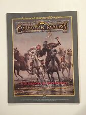 Forgotten Realms: Cyclopedia of the Realms AD&D NM- (TSR,1987) Printing Errors!