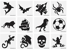 96 x Boys Halloween NEW DESIGN Temporary Tattoos