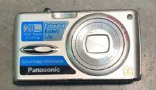 Panasonic Lumix DMC-FX01 6MP Digital Camera - Silver W/ Battery SD