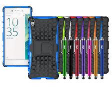 Para Sony Xperia X (2016) armadura caso cubierta trasera Impermeable a Prueba De Golpes Resistente Soporte
