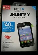 BRAND NEW NET10 LG Optimus Dynamic II Android Smartphone Prepaid