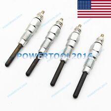 4 Pcs Glow Plug For Bobcat 753 773 763 7753 S175 S185 S150 Skid Steer Loader