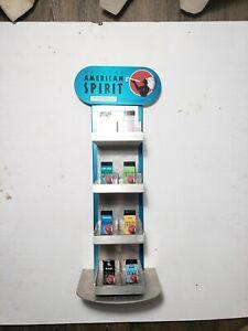 Natural American Spirit Cigarettes Metal Advertising Tin Tobacco Stash Stand