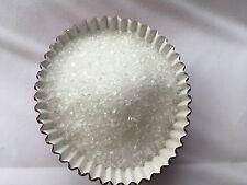 Edible White Sugar Sprinkles Crystals Confeti Decorate cupcake cakes cookies 4oz