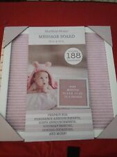 """Sheffield Home Pink 12 x 12"""" Message Board"""