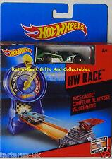 Hot Wheels Race-Race Jauge-TRACK lance un véhicule inclus par Mattel