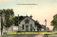 Pennsylvania RR Belvidere-Delaware Div Frenchtown NJ station #1 8½x11 PC repro