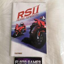 Notice de RS 2 Riding Spirits pour Playstation 2 PS2 PAL FR - Floto Games