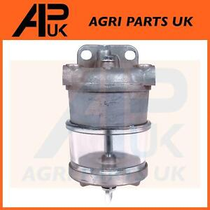 Fuel Water Filter Sediment Bowl Assembly for John Deere 1020 1140 2040 Tractor