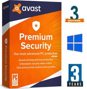 ✔ AVAST Premium Internet Security Antivirus ✔ 3 years ✔ 3 Devices 🔑