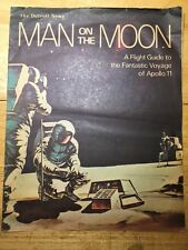 DETROIT NEWS MAN ON THE MOON FLIGHT GUIDE TO FANTASTIC VOYAGE APOLLO 11 INSERT