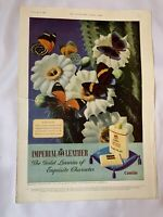 Vintage London News Advert Cussons Imperial Leather White Horse Whisky 1952