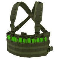 Condor Adjustable Rapid Combat Ammo Chest Rig Airsoft Hunting Patrol Vest Olive