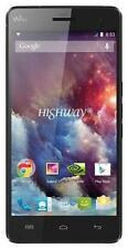 Wiko HIGHWAY 4G - 16GB - Schwarz (Ohne Simlock) Smartphone