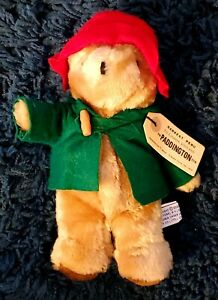 "Paddington Bear 13"" Darkest Peru To London Eden Toy Plush 1975-1981 Green Jacket"
