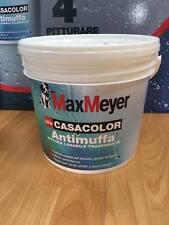pittura antimuffa lavabile traspirante lt 2,5 max meyer bio casacolor bianco