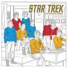 Adult Coloring Book NEW * Star Trek Original Series * Science Fiction Young