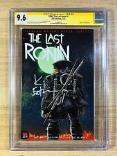 The Last Ronin #1 (2021 IDW) Signed Kevin Eastman 2nd Print TMNT CGC 9.6