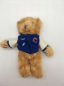 "Chicago Cubs Coach Plush 9"" Bear by Good Stuff"