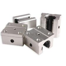 Pack of 4 SBR16UU 16mm Aluminum Open Linear Router Motion Bearing Shaft Block
