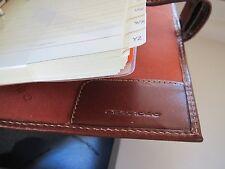Piquadro Tamponato personal-size leather organizer/agenda/diary AG885TP/M