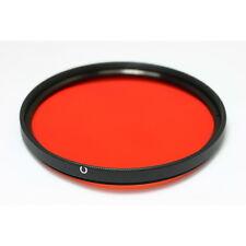 72mm Full Orange Color Conversion Lens Filter fr Canon Nikon Digital DSLR Camera