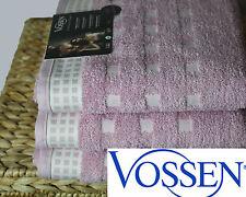 3 Handtücher VOSSEN COUNTRY  652g/m² lavender/ ivory