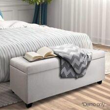 Beige Fabric Footstools