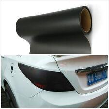 Scrub Black Polymer PVC Car SUV Tail Lights Vinyl Film Sticker Wrap For Mahindra