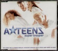 A-TEENS Super Trouper  CD 4 Tracks, Radio Version/Karaoke Version/Video/A-Teens