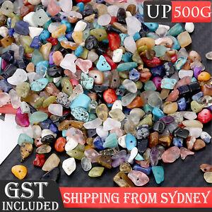 Gemstone Chips Mix Spacers Jewellery DIY Necklace Jewelry Gem Beads FREE POSTAGE