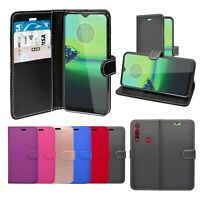 Case For Motorola One Macro Wallet Flip PU Leather Stand Card Slot Pouch Cover