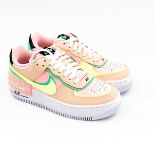 Nike Women AF1 Shadow Arctic Punch CU8591-601 Pink Green Yellow Size 7 NEW w/Box