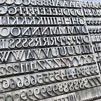 60p GARAMOND h'fett Bleisatz Buchdruck Bleilettern Letterpress 22,5 mm Handsatz