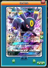 RA Umbreon-GX 80/149 - Pokemon Trading Card Game PTCGO Digital card online