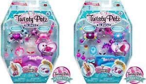 Twisty Petz 4 Pets Blingz Ice Queen Purple Princess Kitty Sparkle Pony Zebra