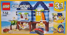 Lego Creator 31063 Strandurlaub 3 in 1 Strandladen oder Bootshafen 2 Figuren NEU