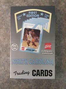 1989 North Carolina 1st First Edition Hobby Box - 36 Packs - Michael Jordan