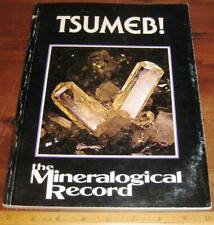 Mineralogical Record Vol 8 #3 Tsumeb! 1977 Minerals Mining Sw Africa Namibia
