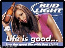 Bud Light Beer Life Is Good Refrigerator Magnet