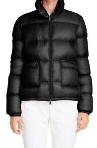 MONCLER Lannic Water Resistant Lightweight Down Puffer Black Jacket sz 3 / 6-8US