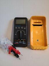 Cen Tech Multimeter P35017 Working W Case Fast Shipping