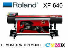 ROLAND XF-640 CMYK FULLY OPTIONED DEMO WIDE FORMAT SOLVENT NSW PICK UP