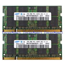 SAMSUNG 4GB 2X2GB DDR2 800 PC2-6400S DDR2 800MHz 200pin Sodimm Laptop Memory